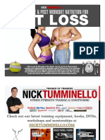 Pre-Post Workout Nutrition Manual for Fat loss.pdf