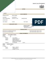 Docket Number 3576 EDA 2016 ORDER DISMISSED TO DOCKET 3575 EDA 2016 KATHLEEN KANE SUPERIOR COURT DOCKET SHEET Friday December 23, 2016