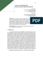 HUME, SCHRÖDINGER E A INDIVIDUAÇÃO DE OBJETOS FÍSICOS.pdf