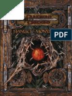 AD&D Manuel Des Monstres II