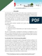 Droit Des Marches Publics