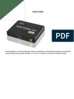 Mini Media Box Manuel