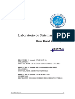 Proyectos Lab Sistemas Digitales - Oscar Veloz