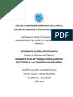 Oscar Veloz - Sincronizacion de Generadores Para Hospital