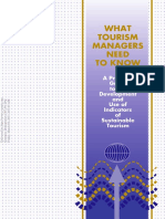 1996 What Tourism Managers Need to Know_A Practical Guide to the Development and Use of Indicators of Sustainable Tourism