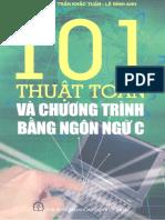 101 Thuật Toán Và Chương Trình Bằng Ngôn Ngữ C