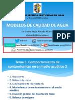 2.3.Modelos.ctes y Modelos Reacción