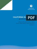 California Water 2030