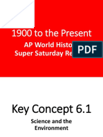 2016 c. 1900 - Present Review Presentation (2)