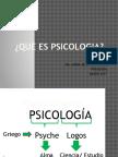 La Psicologia