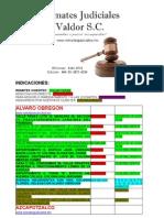 Lista de Inmuebles Remates Valdor