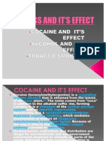 DRUGS AND IT'S EFFECT