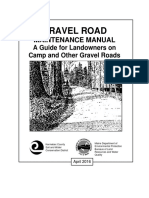 Gravel Road Maintenance Manual