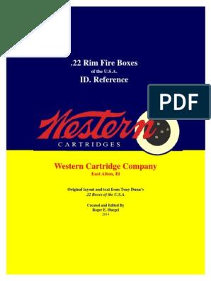 Western | Cartridge (Firearms) | Projectiles