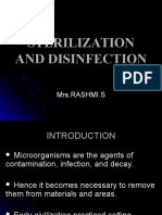 Sterilisation and Disinfection