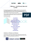 Maxima and Minima - GATE Study Material in PDF