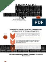 Akuntansi Multiparadigma