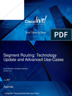 Segment Routing-Technology & Use Cases