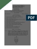 Vibratin Model Exam 2013