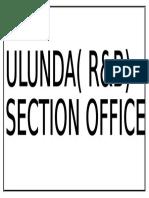 ULUNDA
