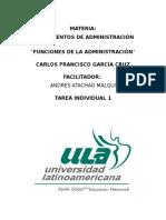 García Cruz Carlos S1 TIFunciones de La Administración