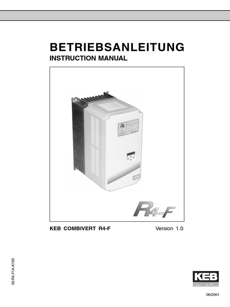 keb f4 s manual
