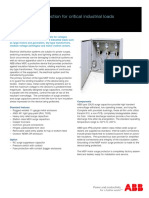 ABB Motor Surge Protection Units - MSP - 2GUZ3101-Rev1