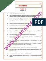 ISS Statistics Paper 3 2003