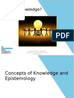 PowerPoint Concepts of Knowledge