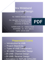 Ultra Wideband Communication Transceiver Presentation