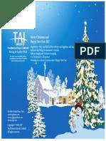 2017 Taj Pharma Group Greeting Card