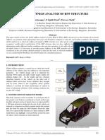 Global Stiffness Analysis of Biw Structure
