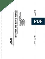 Boom Lift 1200SJP & 1350SJP_Ops. Manual