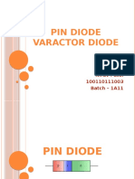 Pindiode vs, Varactordiode