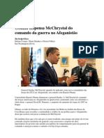 Obama Dispensa McChrystal