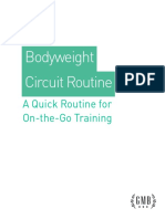 GMB Bodyweight Circuit