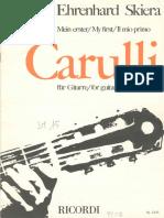 CARULLI - Il Mio Primo Carulli Per Chitarra (Ed Ricordi, Rev Skiera) (Guitar)