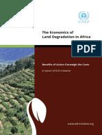 Land Degredation in Africa