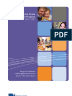 Program Guidelines and Neighbourhood House Sector Information Guide