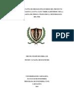Análisis Cuantitativo de Riesgos Financieros Del Proyecto Residencial Cartagena