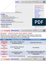 1.1 Supply, Demand, And Equilibrium