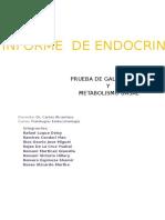 INFORME de ENDOCRINOLOGÍA Prueba de Galli Mainini y Metabolismo Basal