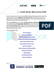 Integration - GATE Study Material in PDF