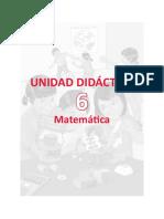 Unidad Didactica Matematica 5togrado9