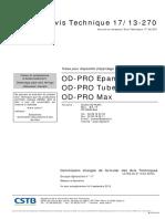 AVIS TECHNIQUE N°17-13-270 - ODPRO.pdf