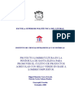 PROYECTO LOMBRICULTURA