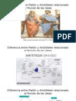 Diferencia Entre Platón y Aristóteles Relacionado Al Mundo11vo