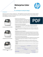 HP PageWide Enterprise Color MFP586 Series