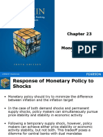 Mishkin Chapter 23 Monetary Policy Theory Slide