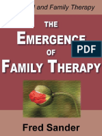 The Emergence of Family Therapy